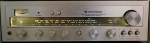 Vintage 70s Kenwood Reciever Sounds Works Great for Sale in Huffman, TX