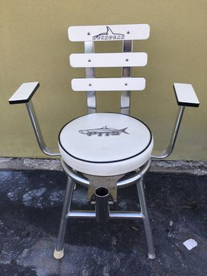 Fishing & Boating Chair - Deck Gear Custom Marine for Sale in Tampa, FL