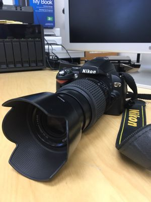 Nikon D60 with 55-200mm f/4.0-5.7g Telephoto lens for Sale in Los Angeles, CA