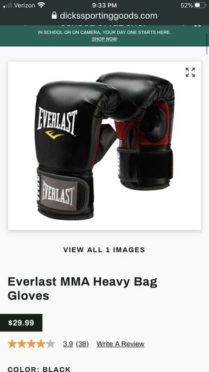 Punching bag gloves for Sale in Chattanooga, TN