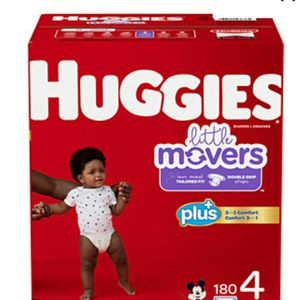 NEW Huggies SIZE 4 for Sale in Fontana, CA