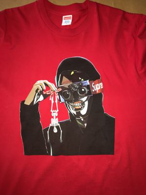 Supreme Creeper Tee size large red for Sale in Tualatin, OR