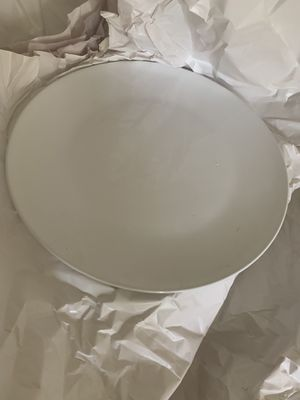 Newly Used all white dishes for Sale in Bethesda, MD