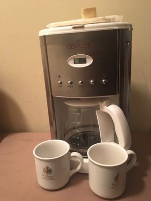 GEVALIA Coffee maker gently used for Sale in Alexandria, VA