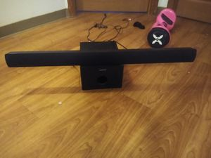 Magnavox Sound Bar with Subwoofer for Sale in Columbia, SC