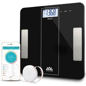 Bluetooth Digital Bathroom Smart Body Weight Scale 400lb Body Fat BMI Analyzer APP Brand New for Sale in New York, NY
