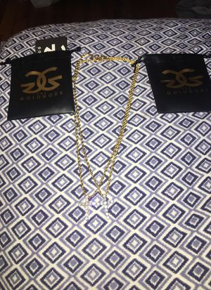 Gold God gold chains for Sale in Columbus, OH