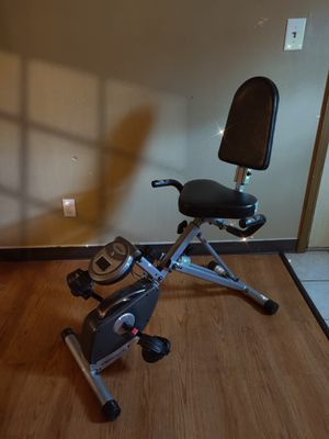 Indoor foldable fitness bike in good condition ✨ for Sale in Columbus, OH