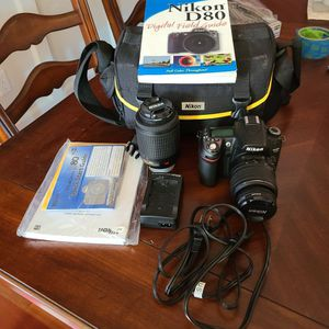 D80 Camera Set for Sale in Clackamas, OR