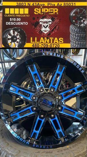 22x12 rines y llantas for Sale in Phoenix, AZ