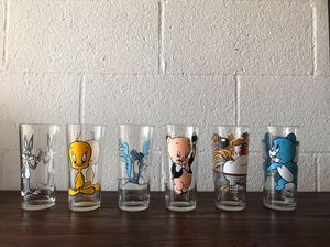 Collectible Pepsi cola drinking glasses for Sale in Pasadena, CA