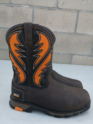 Ariat composite toe work boots size 13D for Sale in Riverside, CA