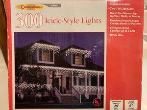 Icicle lights $10 for Sale in Leavenworth, WA