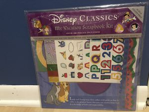 Disney Vacation scrapbook kit for Sale in Palatine, IL