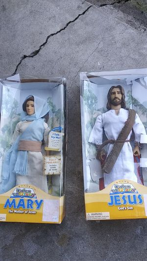 Mary and Jesus talking dolls for Sale in El Cajon, CA