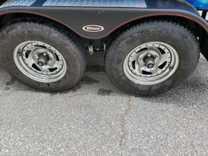Trailer tires and wheels 205 75 14 for Sale in Cumming, GA