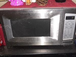 Chrome microwave for Sale in Corona, CA