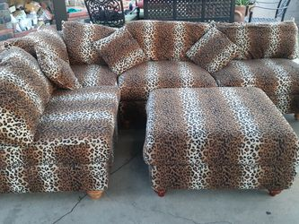 Leopard Couch/sectionals for Sale in Claremont,  CA