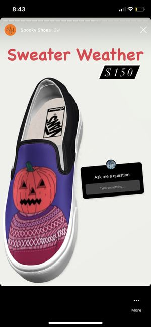Sweater Weather Custom Vans for Sale in Stafford Township, NJ