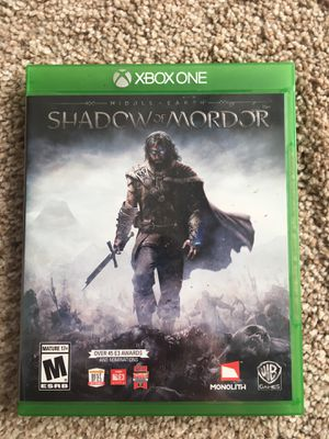 Shadow of Mordor - Xbox One for Sale in Fairfax, VA