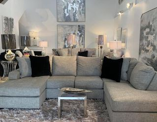 Duel Chaise Sectional (Modern Home Furniture ) for Sale in undefined