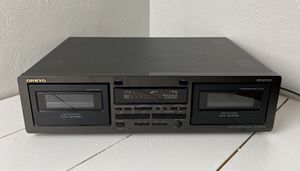ONKYO TA-RW244 DUAL CASSETTE DECK DOLBY C AUTO REVERSE * NICE! for Sale in Pittsburg, CA