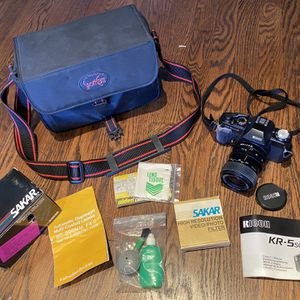Camera, Case & Accessories for Sale in Queens, NY