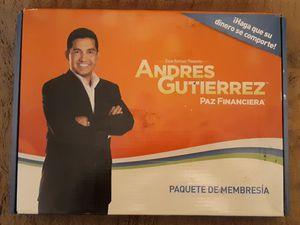 "Andres Gutierrez ""Paz Financiera"" for Sale in Houston, TX"