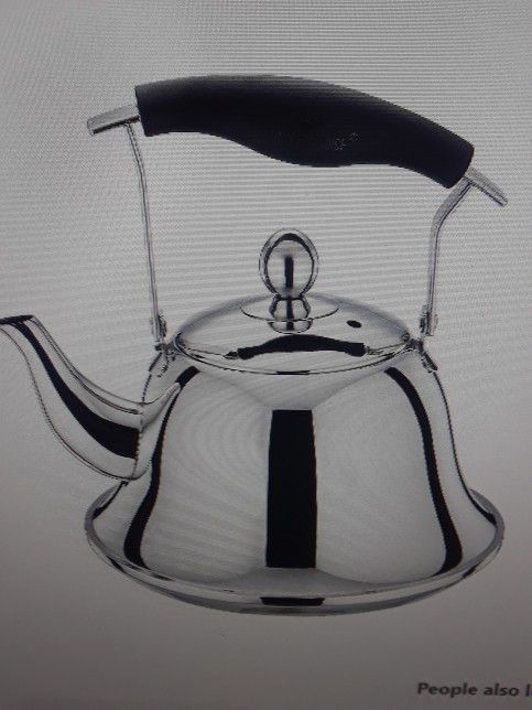 WHISTLING TEA POT STAINLESS STEEL