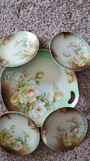 Vintage serving plate and small plates for Sale in Little Chute, WI