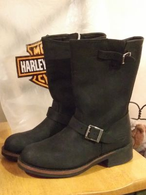 Woman's Harley Davidson boots size 8 half for Sale in Hershey, PA