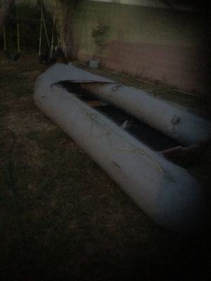 """Large zodiac army inflatable boat """" for Sale in Los Angeles, CA"""
