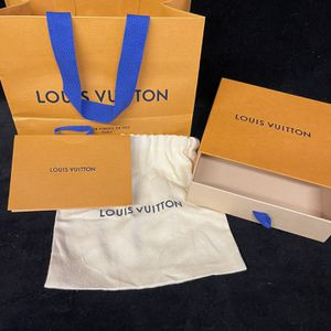 LOUIS VUITTON Empty Gift Box, Card & Bag for Sale in San Clemente, CA
