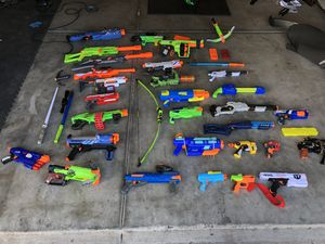 Nerf guns for kids!!!! for Sale in Albuquerque, NM