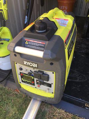 Ryobi RYI2300BT BLUETOOTH GAS GENERATOR for Sale in Miami, FL