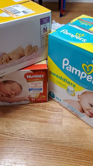 Diapers $50 for Sale in Lowell, MA