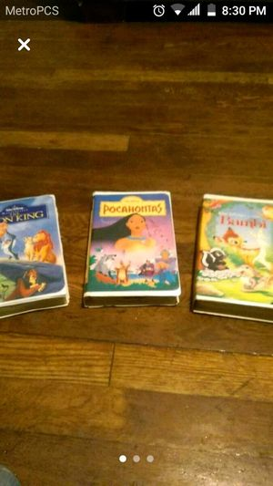 Walt Disney movies for Sale in Cleveland, OH