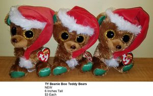 TY Beanie Boo Teddy Bears NEW for Sale in Boca Raton, FL