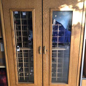 366 Bottle wine fridge W/Extra storage For Larger Bottles for Sale in Santa Clara, CA
