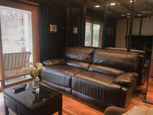Excellent condition. Electric leather reclining sofa. for Sale in Wexford, PA