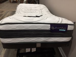 Twin Adjustable Base Bed for Sale in Crittenden, KY