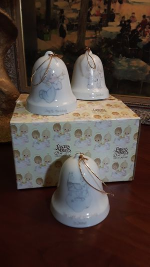 Precious Moments Bell Ornaments for Sale in Greensboro, NC