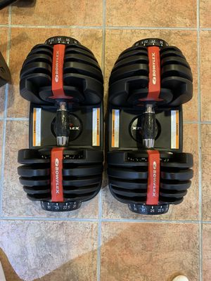 Bowflex dumbbell 552 select tech for Sale in Skokie, IL