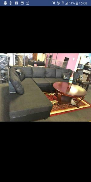 Brand New Black Sectional Sofa for Sale in Austin, TX