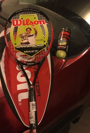 Wilson Tennis Racket and balls - Brand new! Limited Edition for Sale in Woods Cross, UT