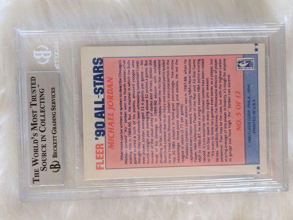 1990-1991 Michael Jordan All Star Card (high-grade)