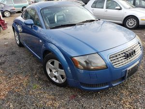2001 Audi TT 2door Coupe 140k Miles 5Speed stick for Sale in Bowie, MD