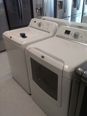 Maytag washer and dryer used good condition 90days warranty 🔥🔥 for Sale in Mount Rainier, MD
