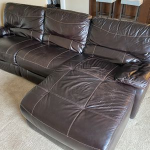 Leather Couch for Sale in Orland Park, IL