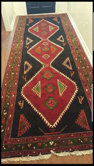 Handmade Persian Rug 5x14 in Exellent condition. for Sale in Fairfax, VA
